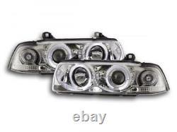 Phares pour BMW Serie 3 coupe (type E36) An 92-98 chrome