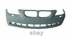 Plaque Pare-Chocs Avant Pour BMW Serie 5 E60 E61 2003 Au 2007 Trous Lavafaro