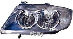 Projecteur Feux avant sx pour Série 3 E90 E91 2005 Au 2008 Imp. Valeo