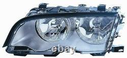 Projecteur Phare Avant sx pour BMW Serie 3 E46 1998 Au 2001 Croma