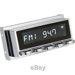 Retrosound Laguna Compléter Chrome Voiture Ancienne Radio MP3 aux-In