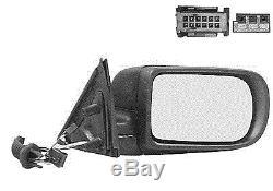 Rétroviseur droit BMW Série 5 E39 (type 2 / arrondi) 04/1996 à 08/2003