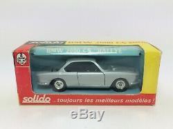 Solido ancien serie 100 BMW 2000 CS ref157 rare version boite type VII d'origine