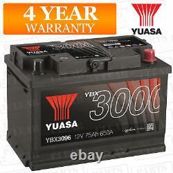 Yuasa YBX3096 Smf Batterie Système Électrique Pour BMW 3 Série E93 2007-2016